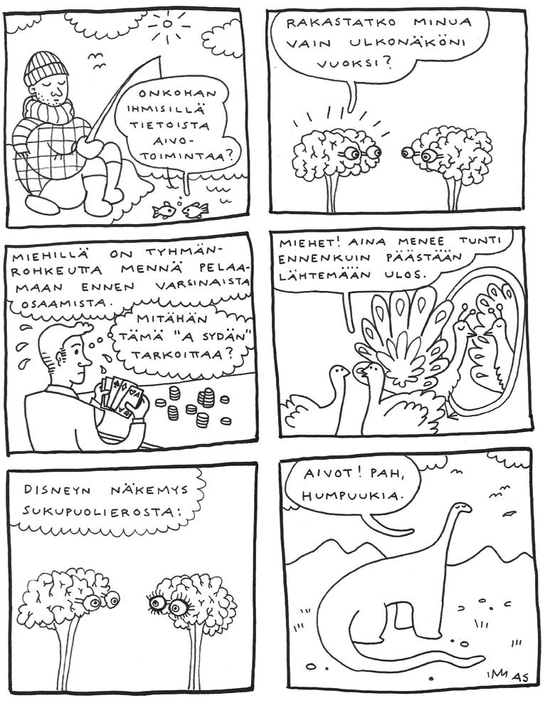 Aino Sutinen prisma studio sarjakuva nenäpäivä web