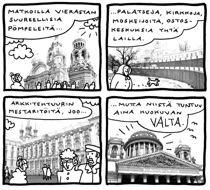 Aino Sutinen Pietari sarjakuva Sarjakuvakeskus pop-up