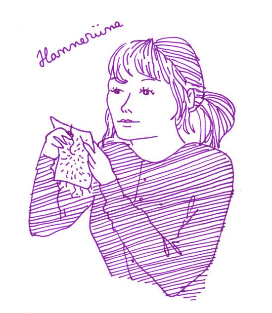 feministinen sarjakuva Aino Sutinen Hanneriina Moisseinen
