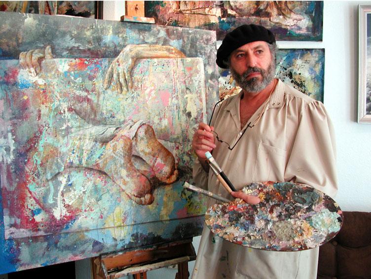 The_painter_Zoro_Mettini_2001 ilmaistyö