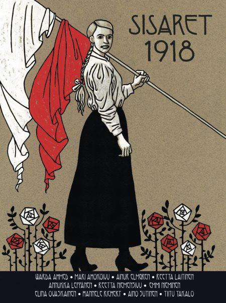 Sisaret 1918 kansi web sarjakuva