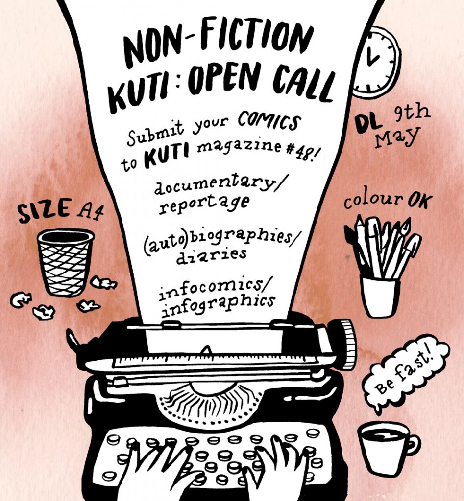 kuti open call web