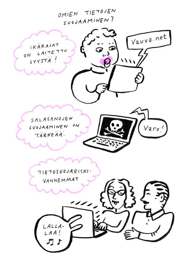 09ysiluokka web livekuvitus tietosuojalaki