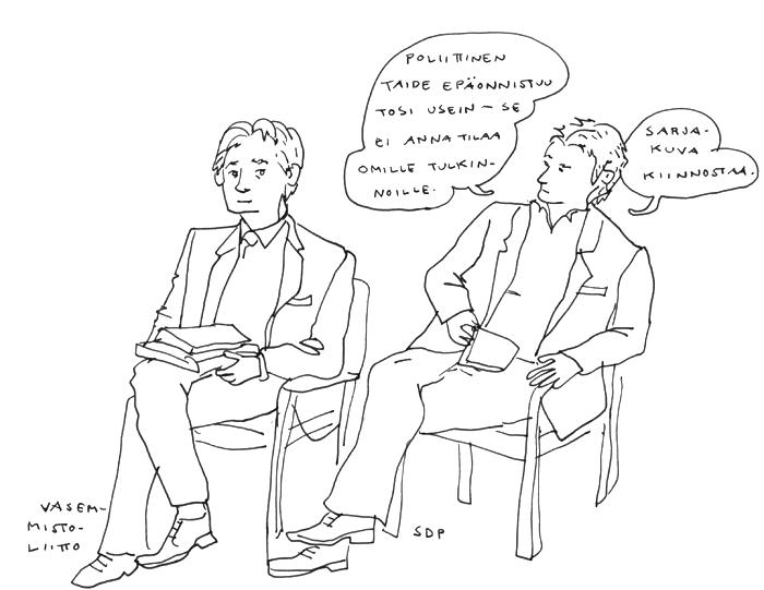 aino sutinen poliittinen sarjakuvailta