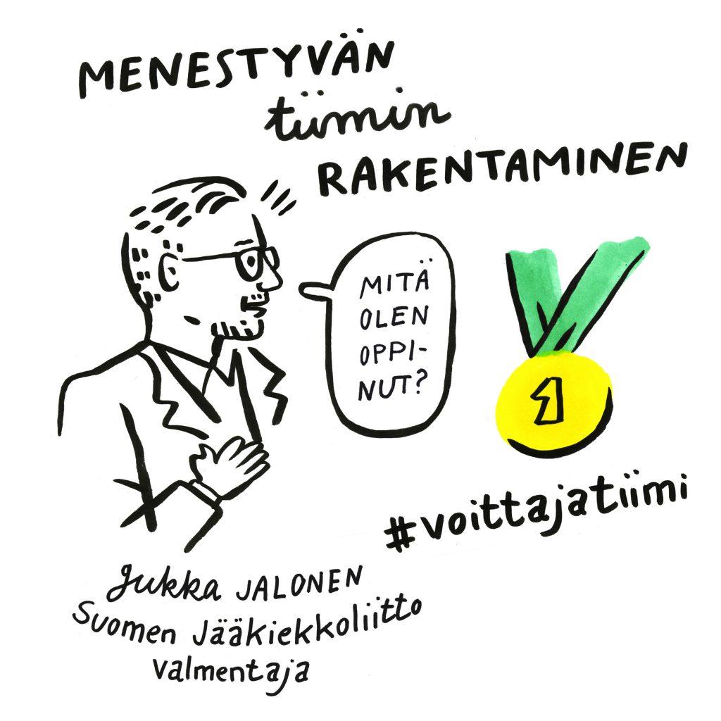 Jukka Jalonen Leijonat tiimi